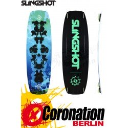 Slingshot ASYLUM 2019 TEST Kiteboard 138 + pads and straps