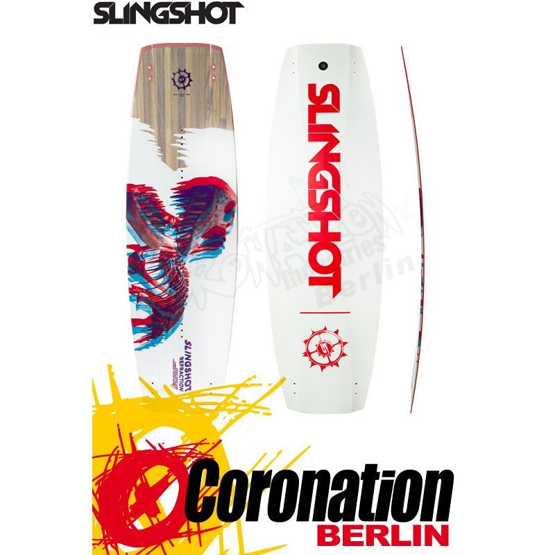 Slingshot REFRACTION 2019 - Sam Light Pro Kiteboard