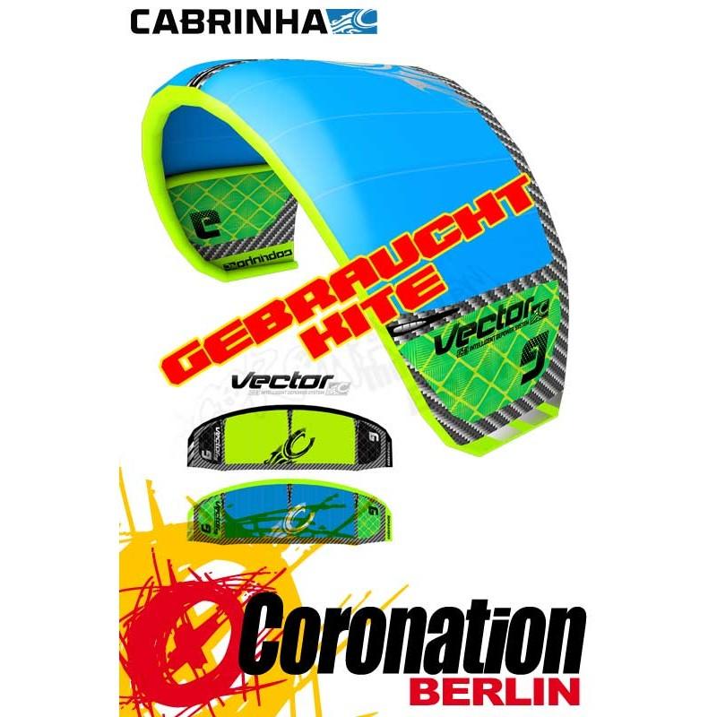 Cabrinha Vector 2013 occasion Kite 11m²