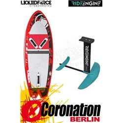 Liquid Force ROCKET 5'0 FOILBOARD + Ride Engine FUTURA 2018 Kitefoil Set