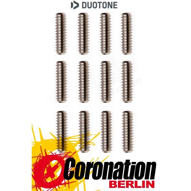 Duotone Ersatzteil Surf Finnenschrauben 12mm (4pcs) & 16mm (8pcs)