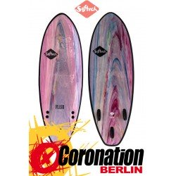 Softech FLASH Surf Softboard pink marble