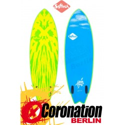 Softech MASON TWIN Surf Softboard lime/yellow