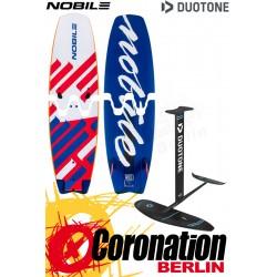 Nobile INFINITY SPLIT + Duotone SPIRIT SURF Foilset