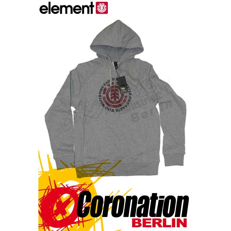 Element Elemental Hoodie Grey Heather