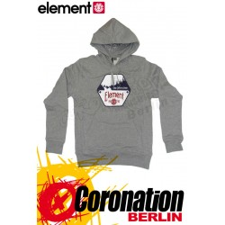 Element Hexagon Hoodie Grey Heather
