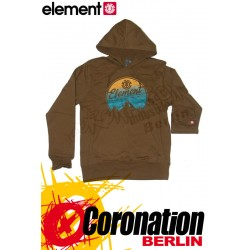 Element Sunset Hoodie Tabacco
