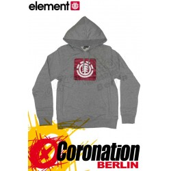 Element Ferocity Hoodie Grey Heather