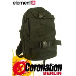 Element Sense Mohave Skateboard Rucksack Street & Schul Backpack Black