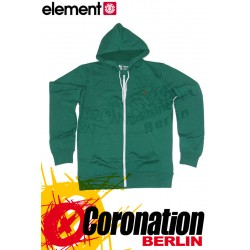 Element Smith Zip Hoodie Green Flash