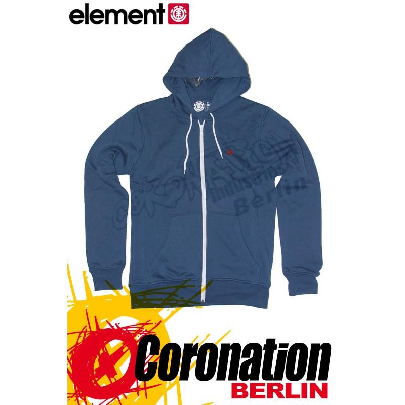 Element Smith Zip Hoodie Blue Shadow