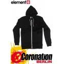 Element Smith Zip Hoodie Black