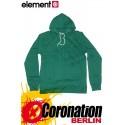 Element Harlem Hoodie vert Flash