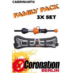 Cabrinha FIREBALL SET Family Pack - 3x Plate + 3x Q-Release