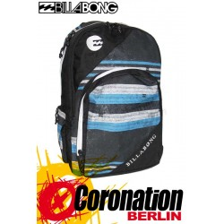 Billabong Mission Rucksack Street & Schul Backpack - Blue Stripes