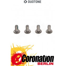 Duotone FOOTSTRAP SCREW RIPPLED 14mm