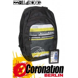 Billabong Graduate Rucksack Sport & Schul Backpack Yellow Stripe