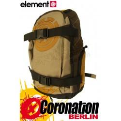 Element Mohave Skate Rucksack Schul & Freizeit Backpack Honey Gold