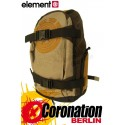Element Mohave Skate Rucksack Schul & Freizeit Backpack Honey Gold