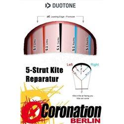 Duotone Vegas 2020 Bladder Ersatzschlauch Fronttube & Struts