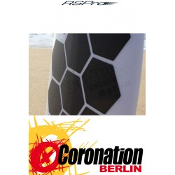 RSPro HEXA TRACTION PADS STANDARD Surfboard Pads black