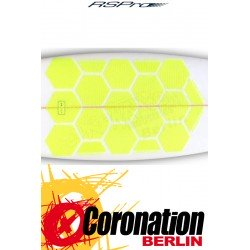 RSPro HEXA TRACTION PADS STANDARD Surfboard Pads yellow