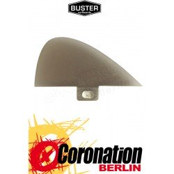 Buster 1.8'' CENTER FINNE black, tinted resin