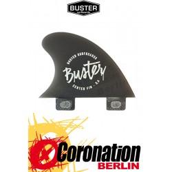 Buster 2.6'' CENTER FINNE black, tinted resin