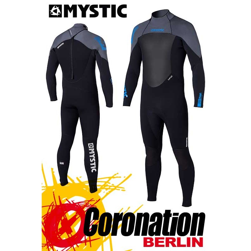 Mystic Star 5/4 D/L combinaison neoprène Black/Grey