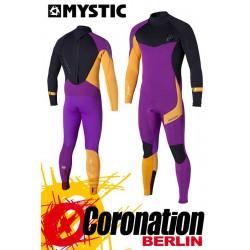 Mystic Crossfire Steamer 5/4 Neoprenanzug Purple/Orange