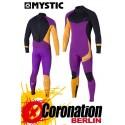 Mystic Crossfire Steamer 5/4 combinaison neoprène Purple/Orange