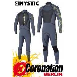 Mystic Black Star 5/4 D/L combinaison neoprène Ash/Grey Wetsuit