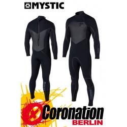 Mystic Majestic 5/4 D/L Full Neoprenanzug Wetsuit Back-Zip Black