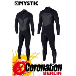 Mystic Majestic 5/4 D/L Full Neoprenanzug Wetsuit Back-Zip Black