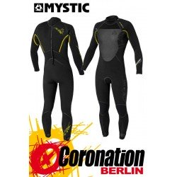 Mystic Voltage 5/4 D/L Neoprenanzug Fullsuit Black/Yellow
