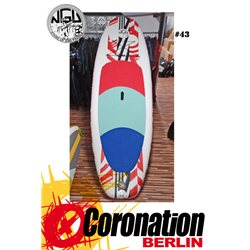 NGU Inflatable SUP Board 10'8 Standup Paddle Board 43 (Weiß-Orange)