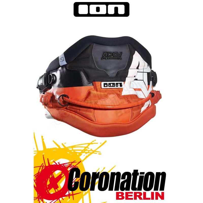 ION Apex Waist Harness Black/Orange