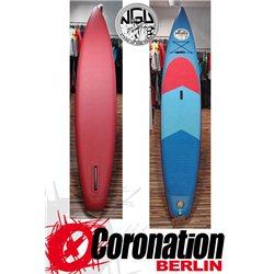 NGU Inflatable SUP Board 10'7 Standup Paddle Board 17 (Orange)