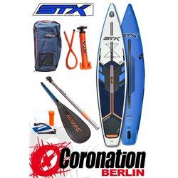 STX 2020 SUP Board Tour/Race SET 12'6''x32''x6'' blue/white/orange