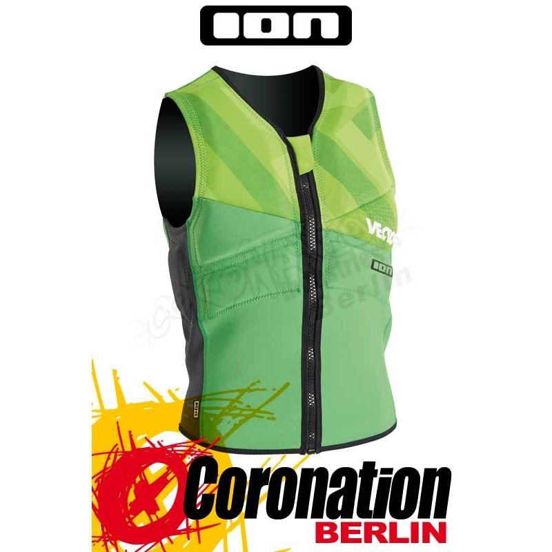 O/'Neill Slasher Wake//Kite Vest Prallschutzweste Neopren Weste Black//Green