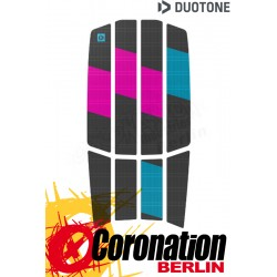 Duotone TRACTION PAD TEAM FRONT 2021 dark grey/pink