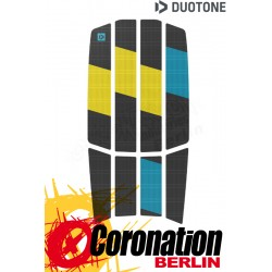 Duotone TRACTION PAD TEAM FRONT 2021 dark grey/yellow