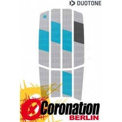 Duotone TRACTION PAD TEAM FRONT 2021 light grey/turquoise