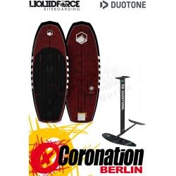 Liquid Force GALAXY 4'8'' + Duotone SPIRIT CARVE 950 Foilset