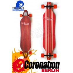 Palisades Citrus Crush Drop Thru Longboard 107cm