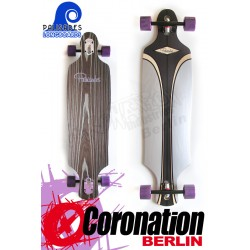 Palisades Purple Tide Drop Thru Freeride Longboard 101cm