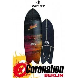 Lost X Carver PSYCHO KILLER 29'' Surfskate Deck