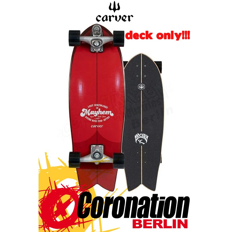 Lost X Carver RNF RETRO 29.5'' Surfskate Deck
