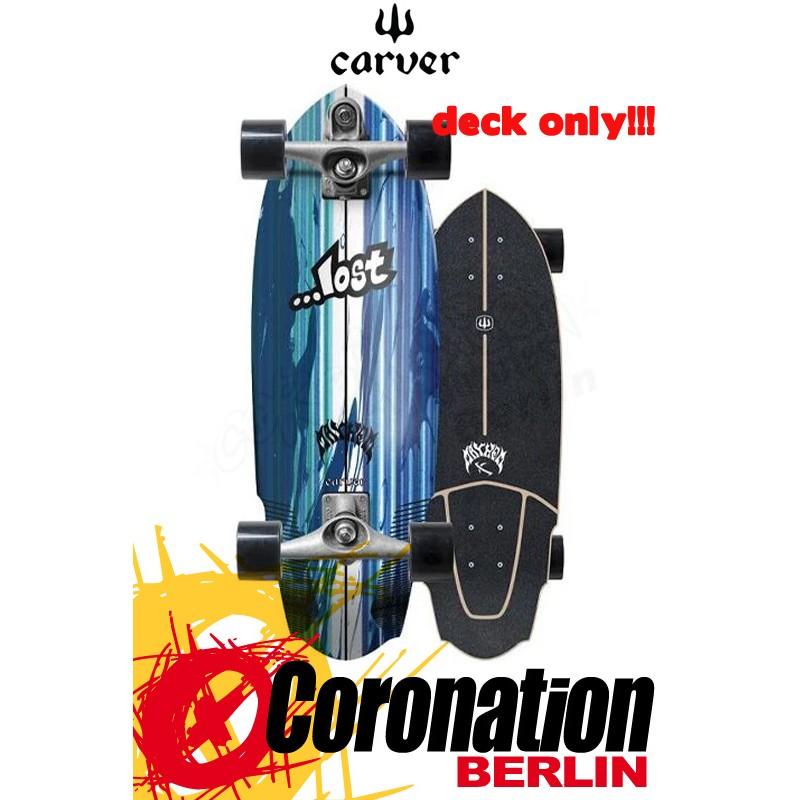 Lost X Carver V3 ROCKET 30'' Surfskate Deck