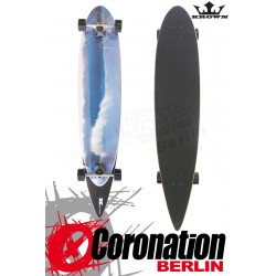 Krown Longboard complete Wave City Pintail Cruiser 43""